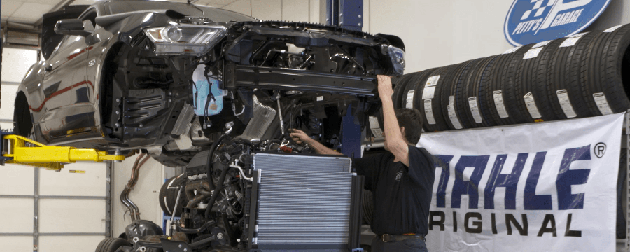 MAHLE-Petty-Mustang-Build-Begins-1