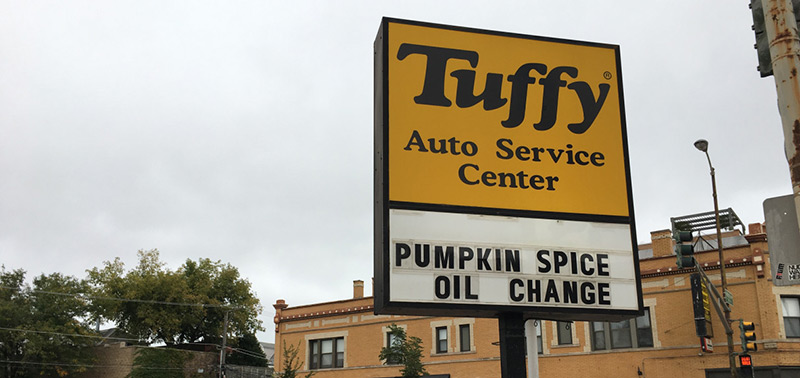 tuffy-pumpkin-spice-oil-change-sign