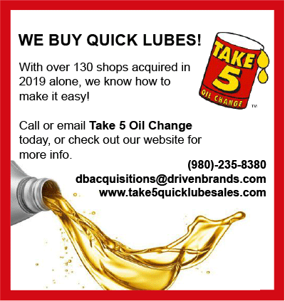 Take 5 Oil Change Classified