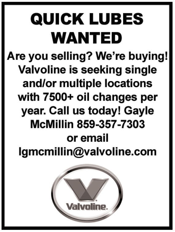Valvoline Classified