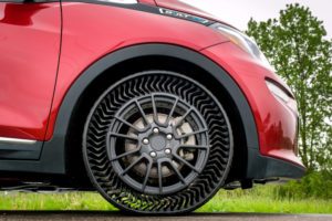 GM michelin airless tire