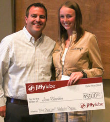 Jiffy Lube scholarship