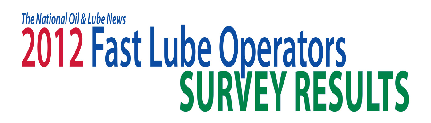 2012 Fast Lube Operator Survey