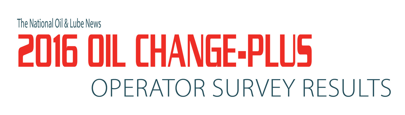 2016 Oil Change Plus Operator Survey